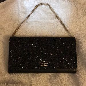 🤩Kate spade Milou Laurel way glitter clutch 🤩